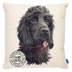 Personalised Dog Cushion Cover