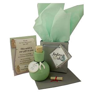 Personalised Emerald Anniversary Gift