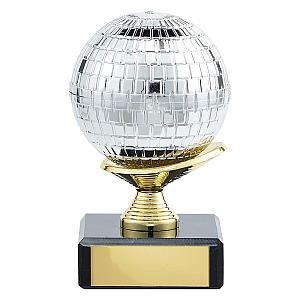 Personalised Glitter Ball Award