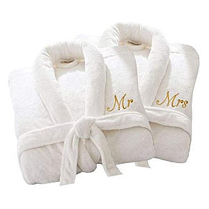 Personalised Mr And Mrs Dressing Gowns