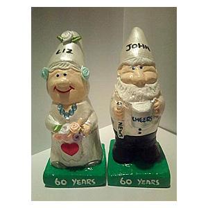 Personalised Mr & Mrs Gnomes