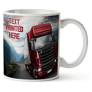 Personalised Truck Mug