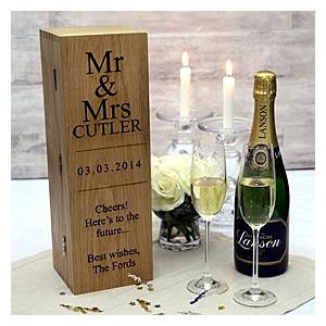 Personalised Wine Box