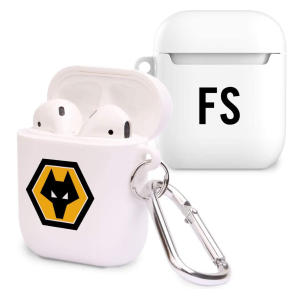 Personalised Wolves Airpod Case