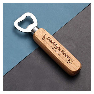 Personalised Wooden Bottle Opener