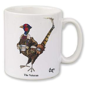 Pheasant The Veteran Mug