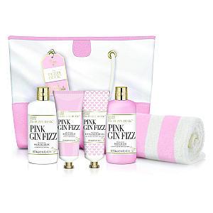 Pink Gin Fizz Beach Bag Set