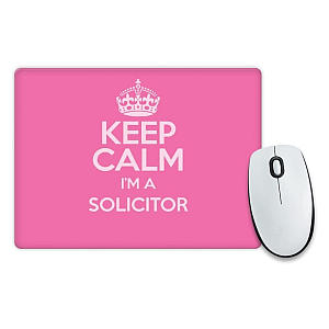 Pink Mouse Pad for Solicitor