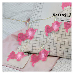 Pink Unicorn Fairy Lights