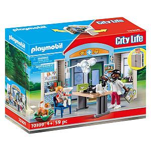Playmobil City Life Vet Play Set