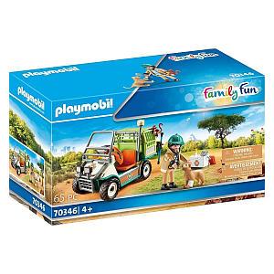 Playmobil Family Fun Zoo Vet