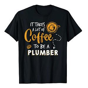 Plumber Coffee T-Shirt