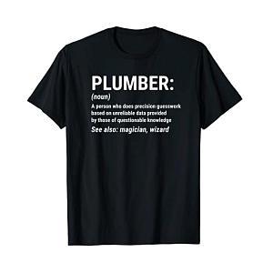 Plumber Noun T-Shirt
