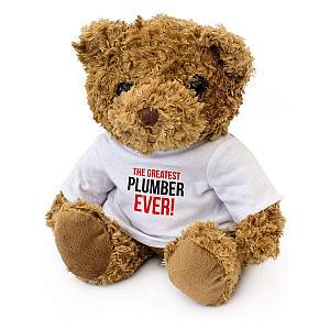 Plush Greatest Plumber Bear
