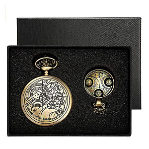 Pocket Watch and Necklace Gift Box