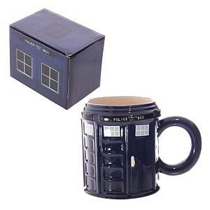 Police Box Ceramic Mug