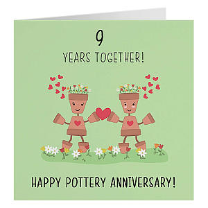 Pottery Anniversary Card