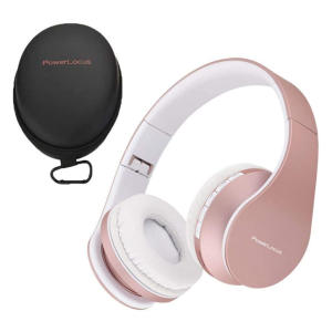 PowerLocus Wireless Bluetooth Foldable Headphones