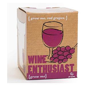 Red Wine Enthusiast Grow Me Kit