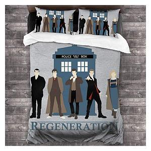 Regeneration 3 Piece Bedding Set