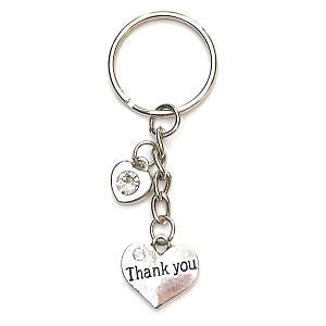 Rhinestone Thank You Bracelet