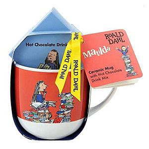 Roald Dahl Matilda Themed Gift Set with Mug