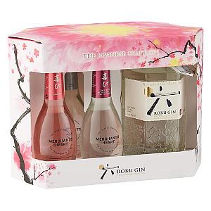 Roku Japanese Craft Gin Gift Pack