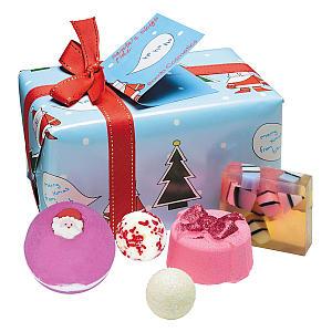 Santa Bath Bomb Set