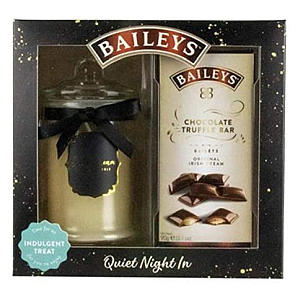 Scented Candle and Chocolate Truffle Set