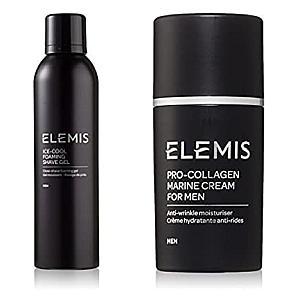 Shaving Cream & Pro-Collagen Marine Cream Bundle for Men