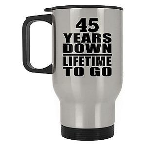 Silver Anniversary Travel Mug