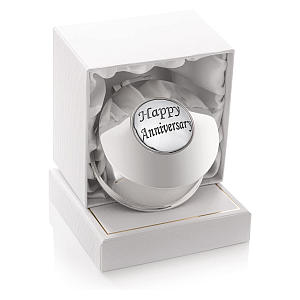 Silver Anniversary Trinket Box