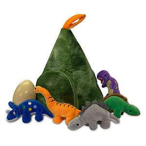 Soft Toy Dinosaur Playset