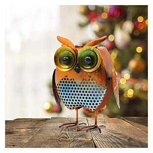 Solar Owl Garden Ornament