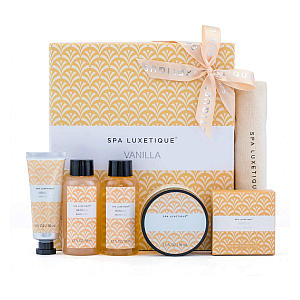 Spa Luxetique Vanilla Spa Set