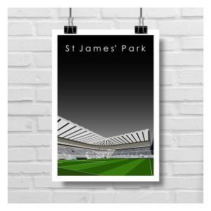 St. James Park Print