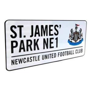 St. James Park Street Sign