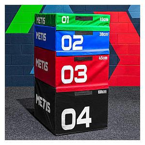 Stackable Plyometric Jump Box Set