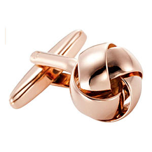 Steel Knot Cufflinks