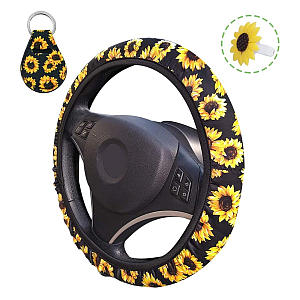 Steering Wheel Cover and Air Freshener