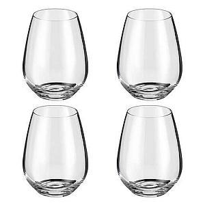 Stemless Wine Glasses Set