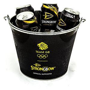 Strongbow Metal Ice Bucket
