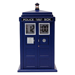 Tardis Digital Projection Alarm Clock