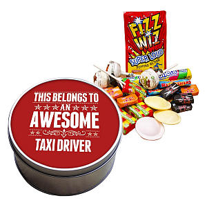 Taxi Sweets Tin