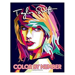 Taylor Swift Colouring Book