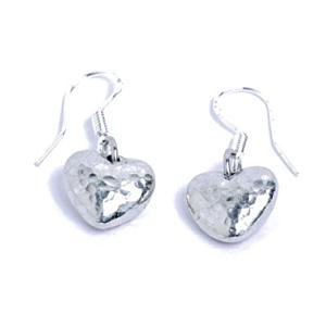 Ten Year Anniversary Tin Earrings