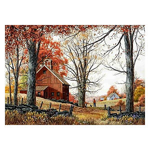 The Countryside Counted Stitch Kit
