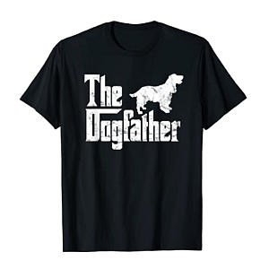 The DogFather Spaniel T-Shirt