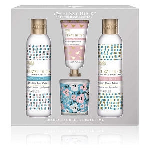 The Fuzzy Duck Bathing Candle Set