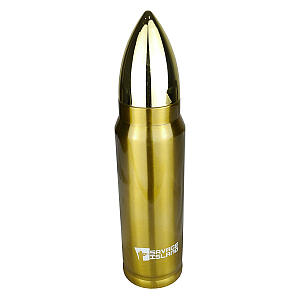 Thermal Rifle Bullet Flask
